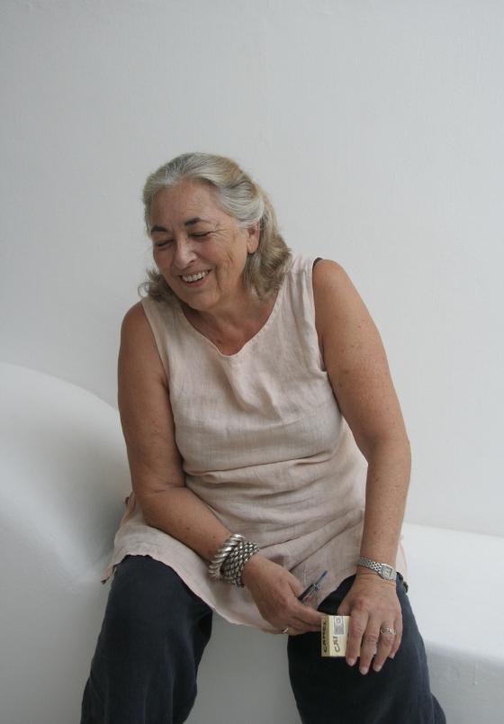 Valerie on Stromboli